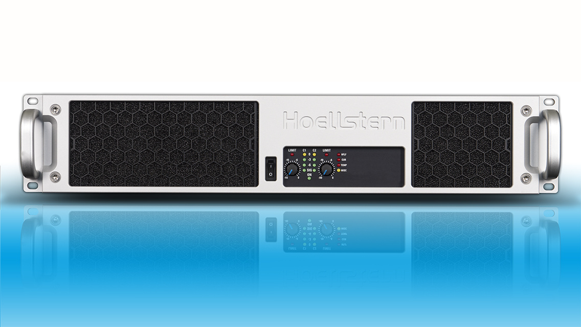 Hoellstern 2-channel DSP audio amplifier