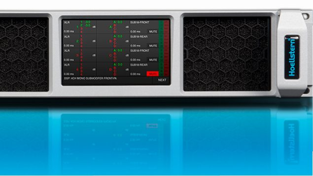 Hoellstern 20.4 DSP amplifier with TFT available
