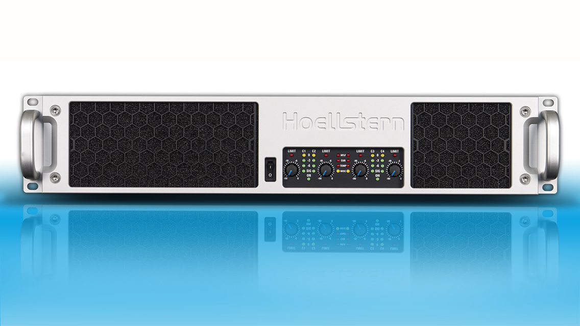Hoellstern 4-channel DSP audio amplifier