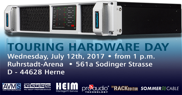 Touring Hardware Day Herne