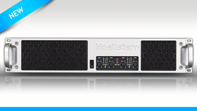 new 4-channel amplifier from Hoellstern
