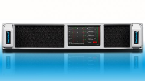 Hoellstern amplificateur audio 4-canaux DSP TFT