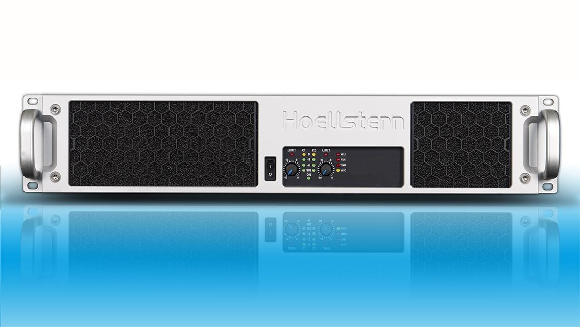 professioneller 2-Kanal Audio Verstärker mit DSP