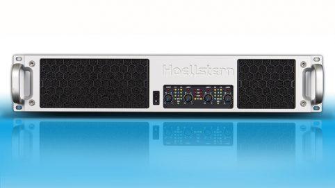 Professioneller 4-Kanal Audio Verstärker