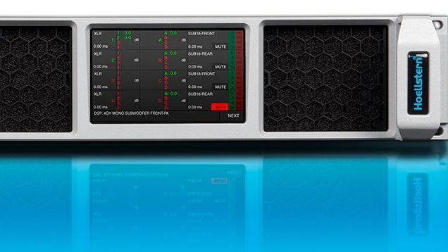 neuer Hoellstern Verstärker mit TFT Display