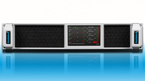 Professioneller 2-Kanal Verstärker mit DSP und Display